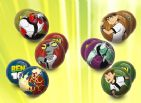 BEN 10 Soft PLAY BALL Surprise Lucky Dip Play Balls - 6 To Collect